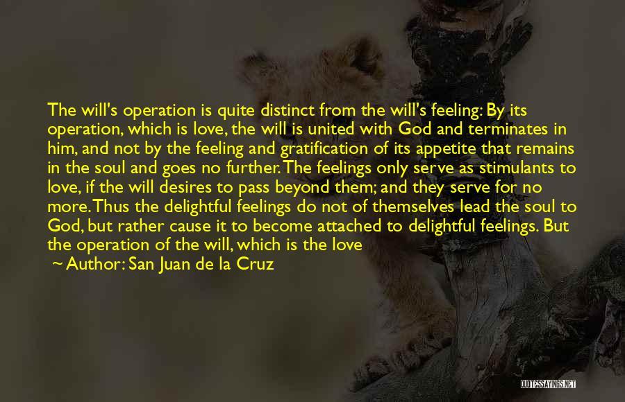 Feelings Of Love Quotes By San Juan De La Cruz