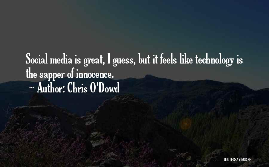 Feels Great Quotes By Chris O'Dowd