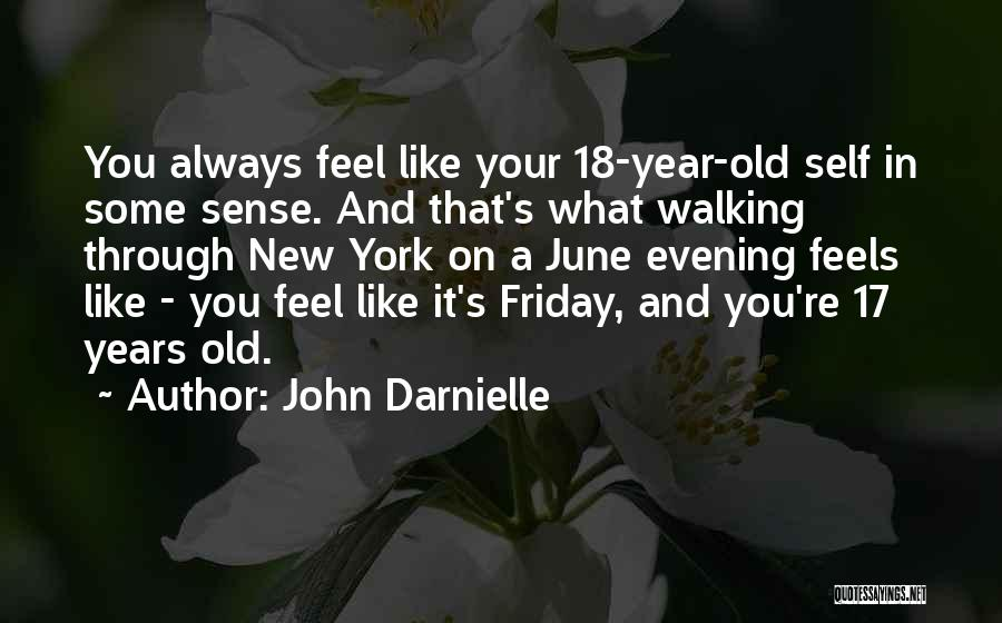 Feels Like Friday Quotes By John Darnielle