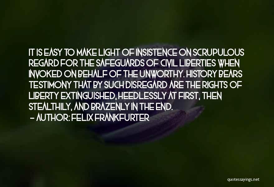 Felix Frankfurter Quotes 282976