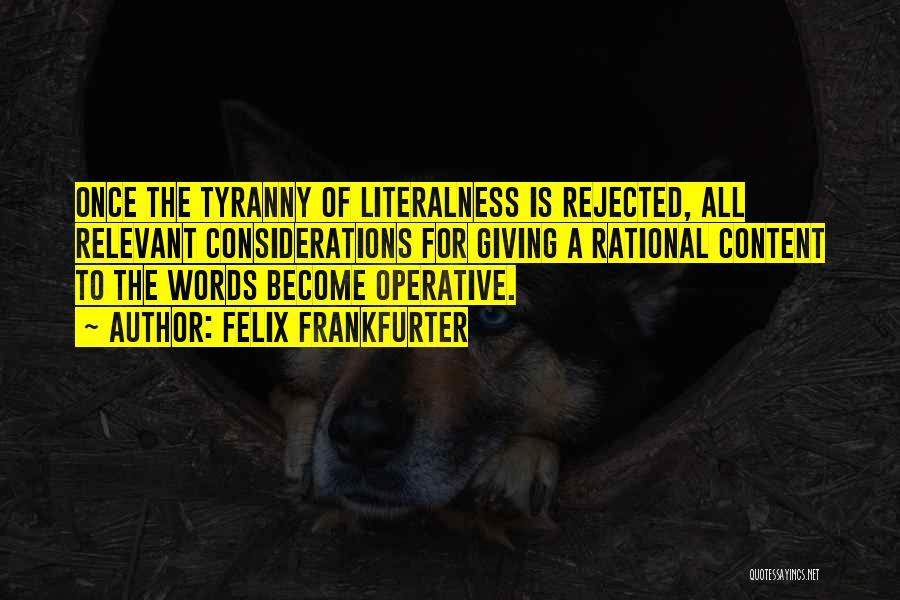 Felix Frankfurter Quotes 317937