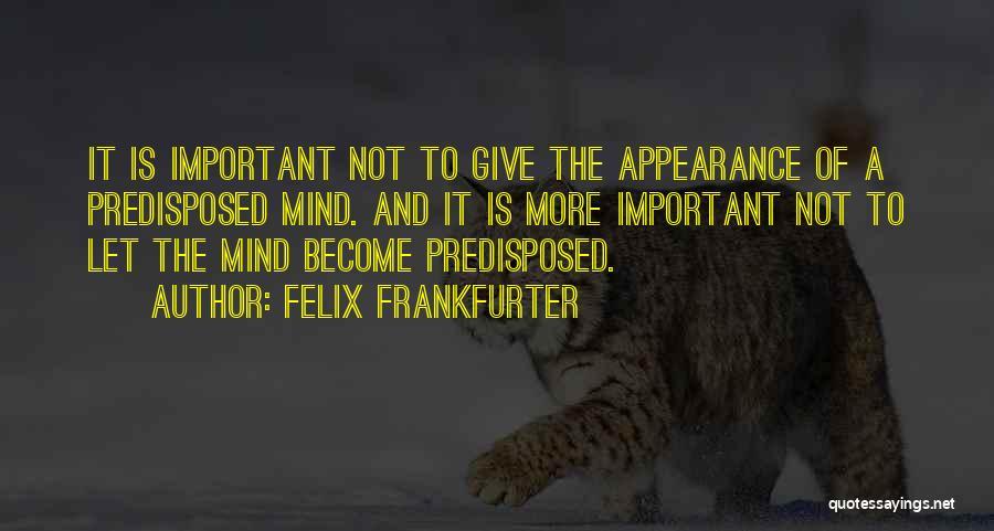 Felix Frankfurter Quotes 884249