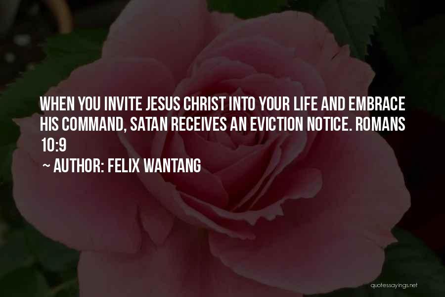 Felix Wantang Quotes 1210171