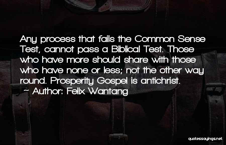 Felix Wantang Quotes 123851