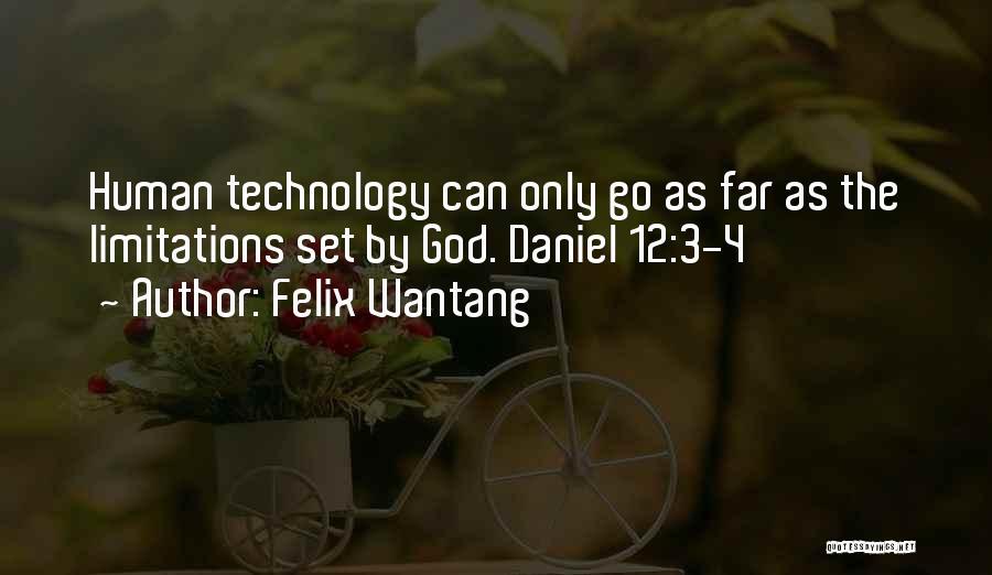 Felix Wantang Quotes 1296795