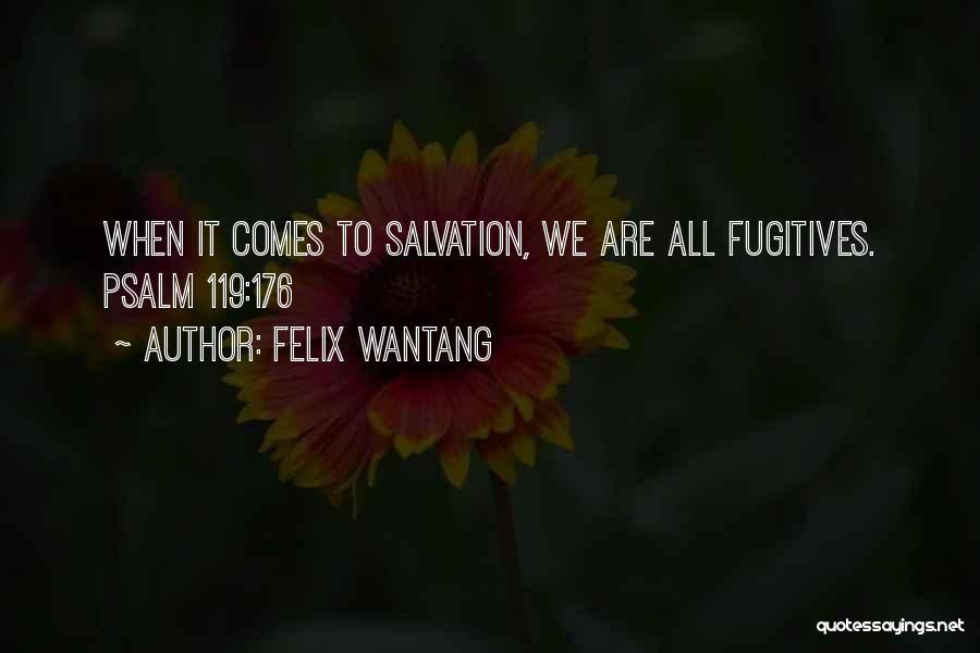 Felix Wantang Quotes 148939