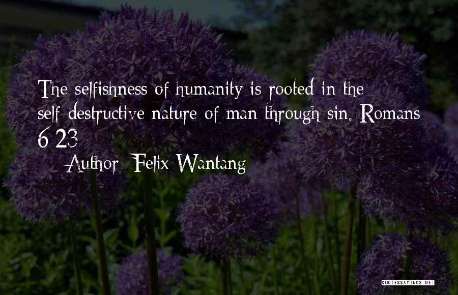 Felix Wantang Quotes 1654929