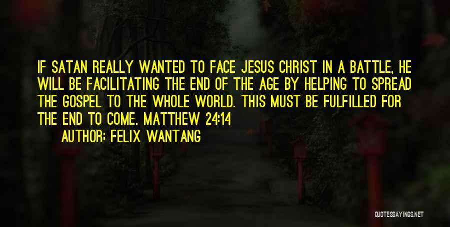 Felix Wantang Quotes 182240