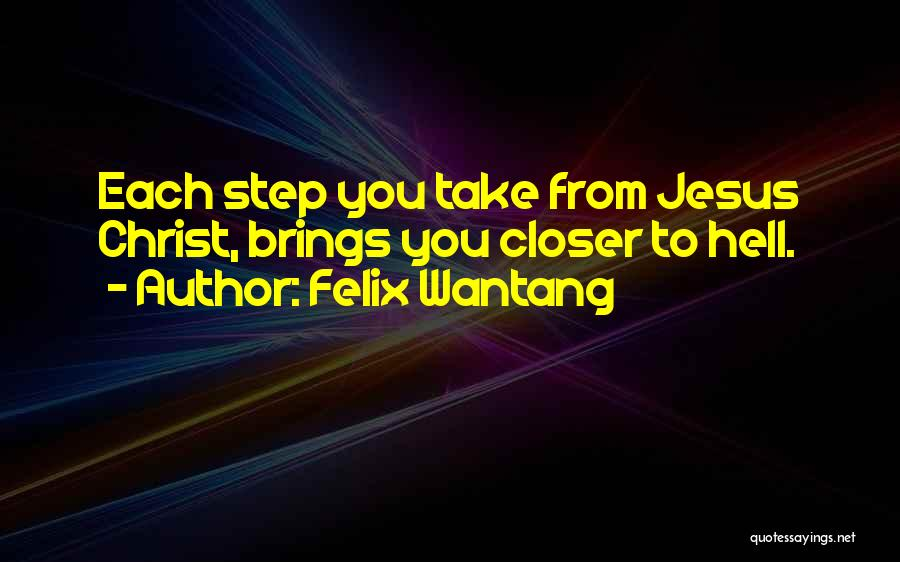 Felix Wantang Quotes 1860702