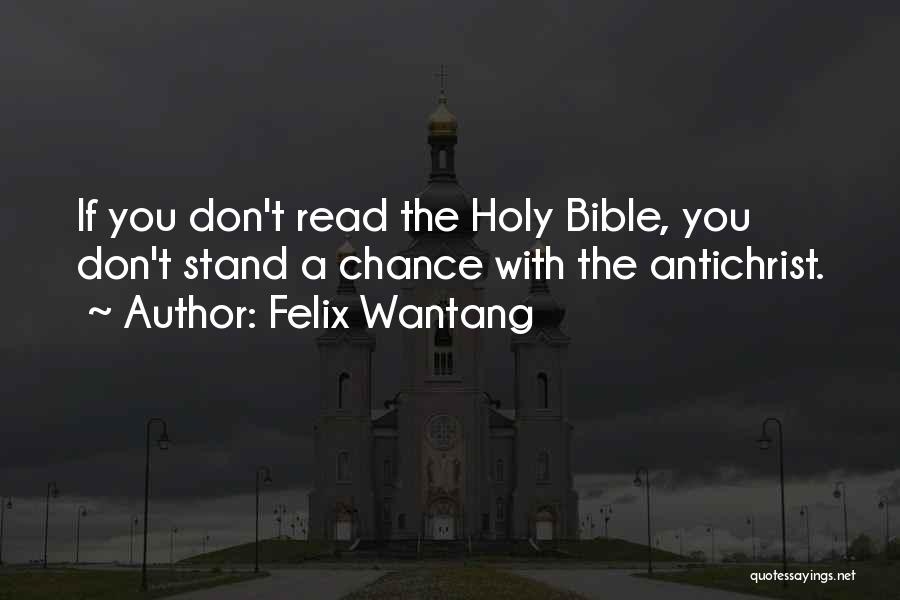 Felix Wantang Quotes 2053929