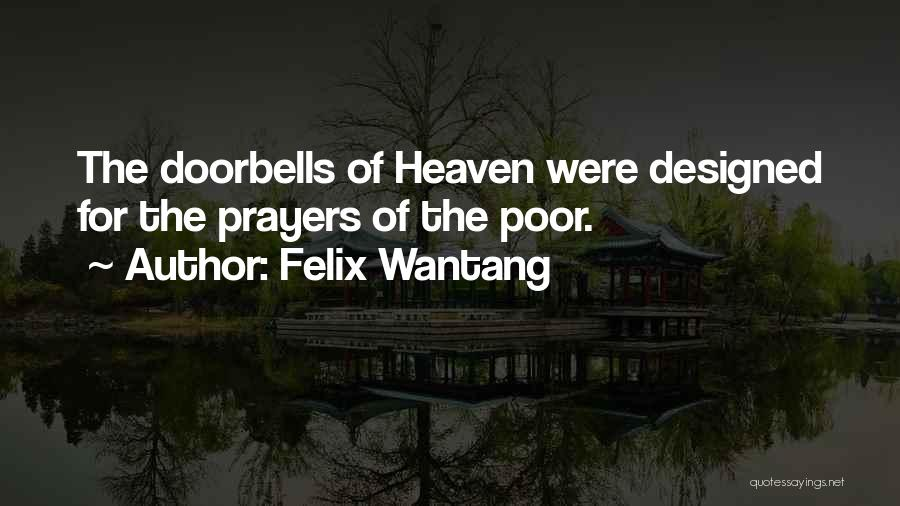 Felix Wantang Quotes 2084731