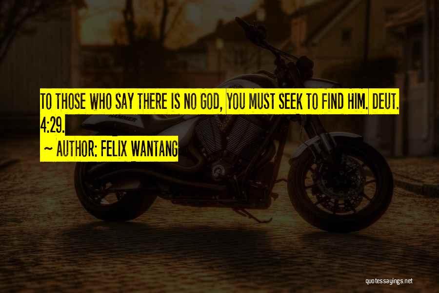 Felix Wantang Quotes 509734