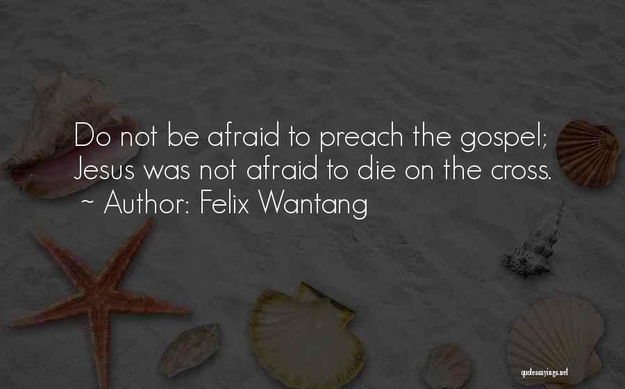 Felix Wantang Quotes 917321