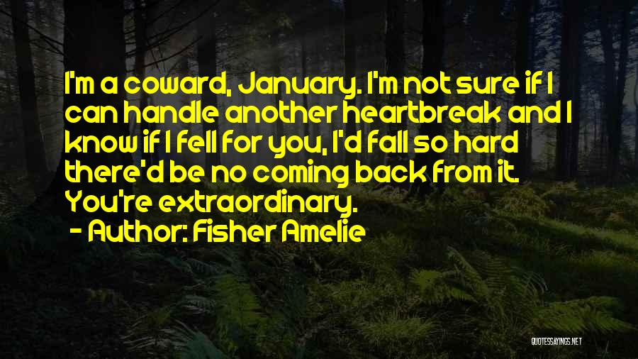 Fell Hard For You Quotes By Fisher Amelie