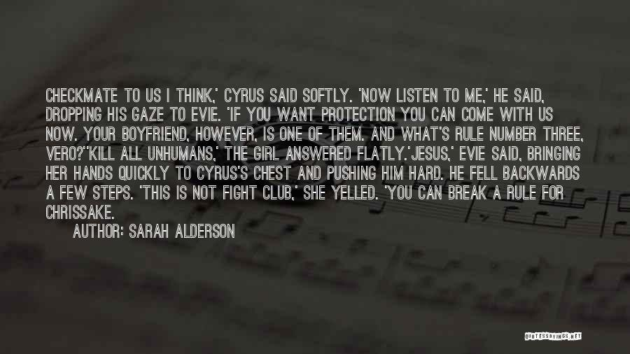 Fell Hard For You Quotes By Sarah Alderson