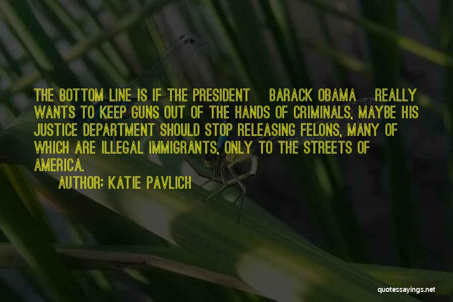 Felons Quotes By Katie Pavlich