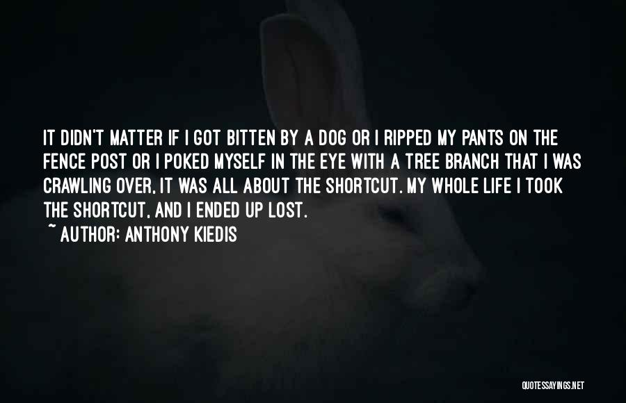 Fence Post Quotes By Anthony Kiedis