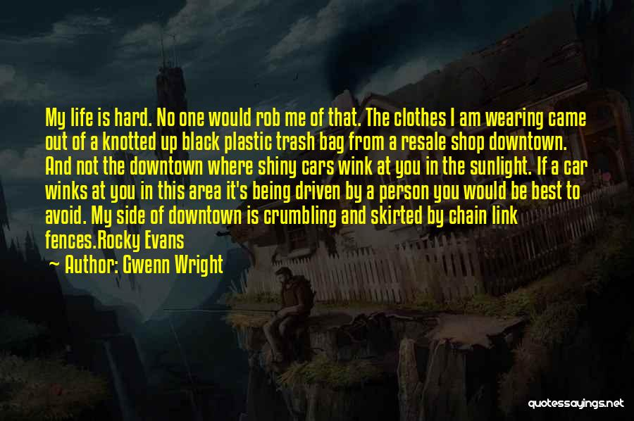 Fences And Life Quotes By Gwenn Wright