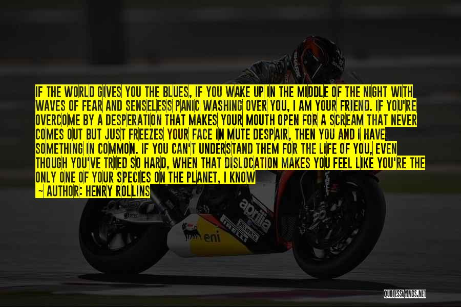 Fences And Life Quotes By Henry Rollins