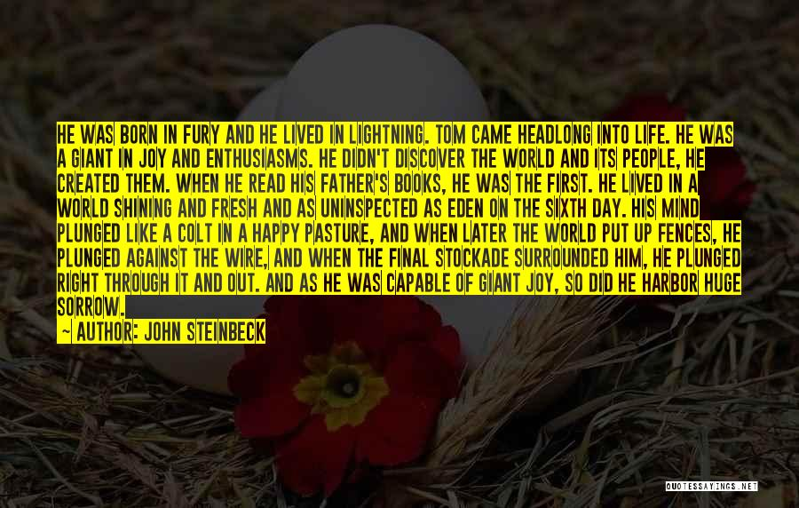 Fences And Life Quotes By John Steinbeck