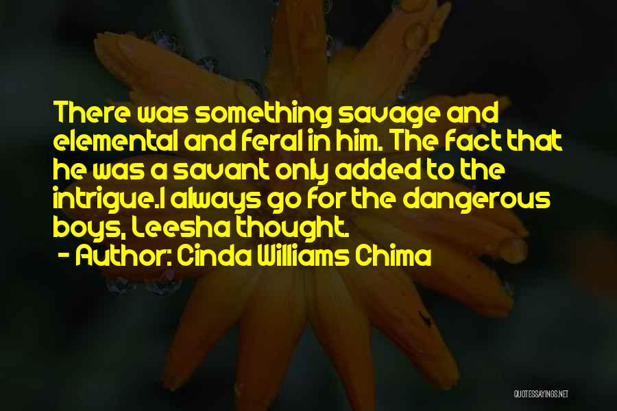 Feral Quotes By Cinda Williams Chima