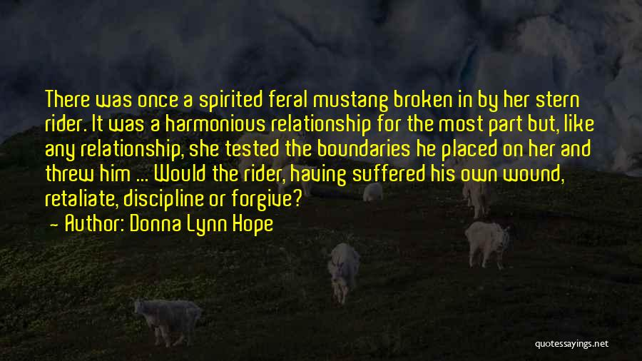 Feral Quotes By Donna Lynn Hope