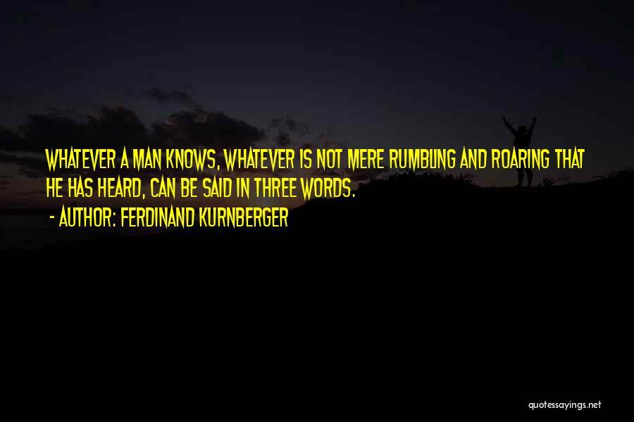 Ferdinand Kurnberger Quotes 1680041