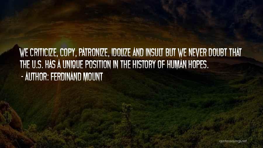Ferdinand Mount Quotes 1398911