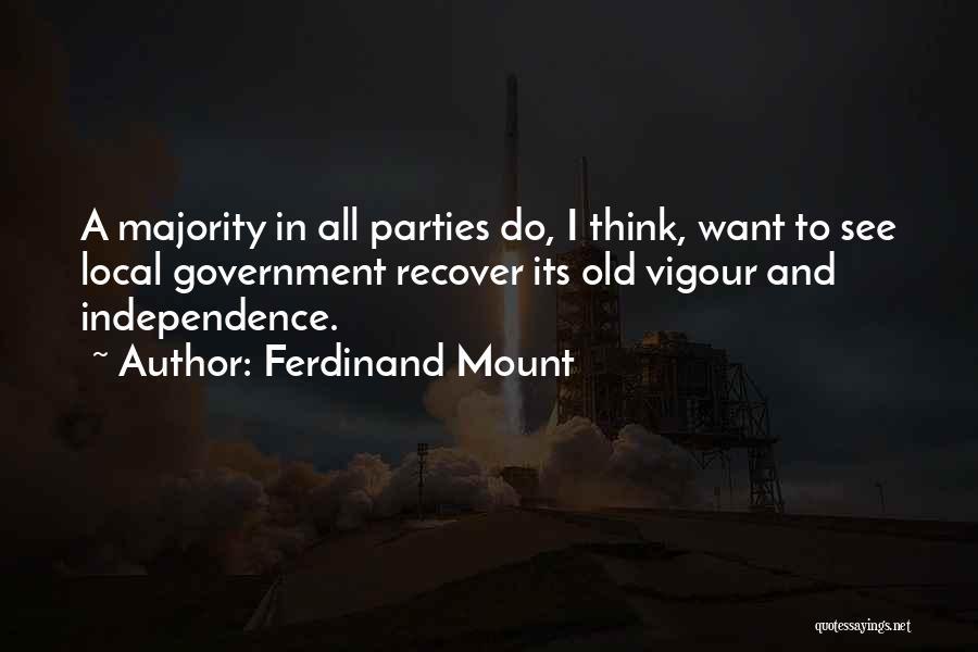 Ferdinand Mount Quotes 1417807