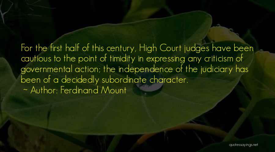 Ferdinand Mount Quotes 1927802