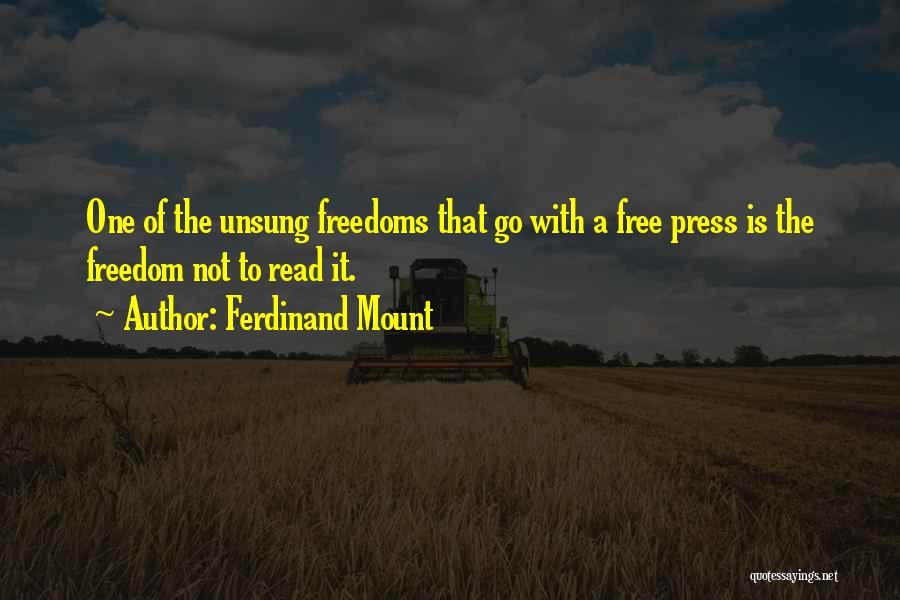 Ferdinand Mount Quotes 2085902