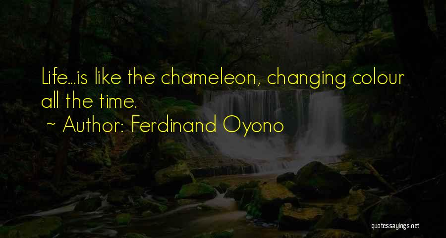 Ferdinand Oyono Quotes 290189