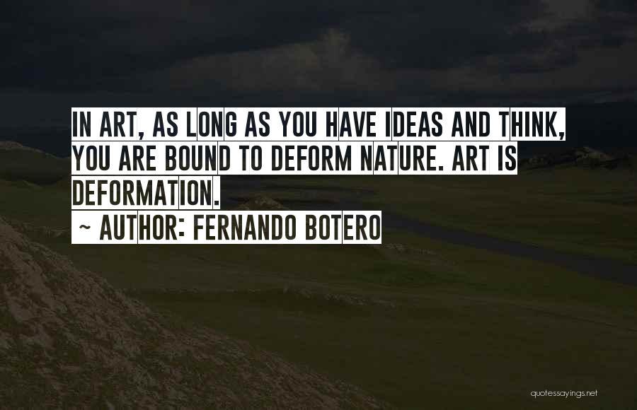 Fernando Botero Quotes 121885