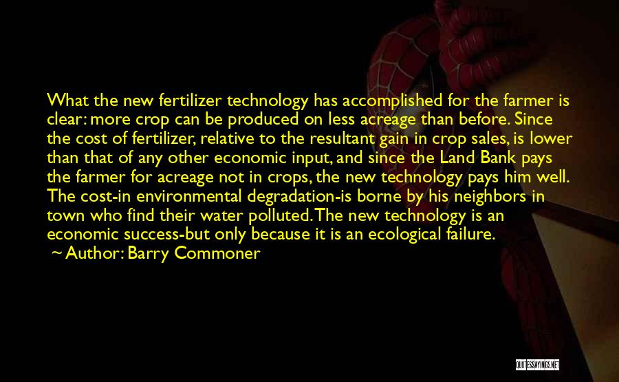Fertilizer Quotes By Barry Commoner