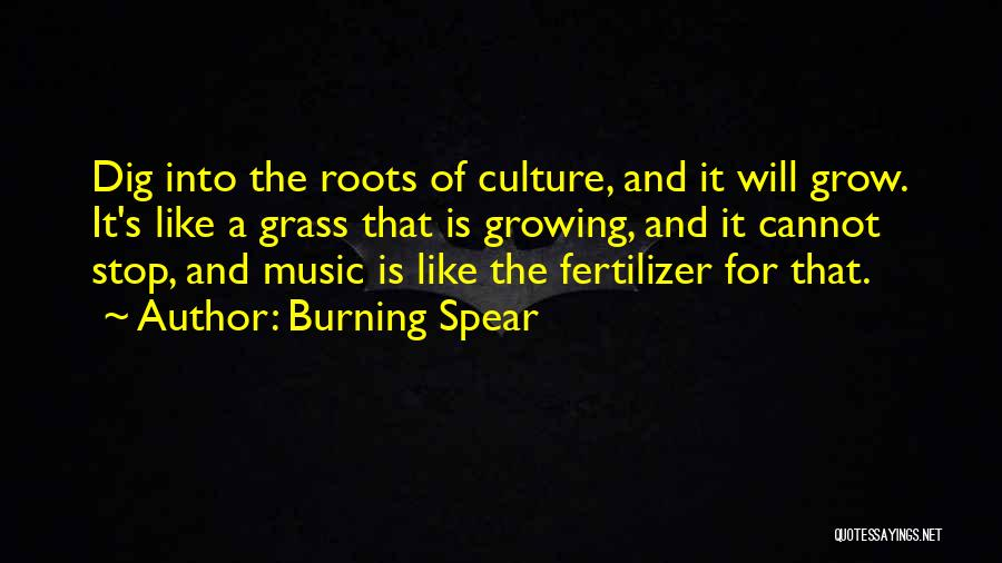 Fertilizer Quotes By Burning Spear
