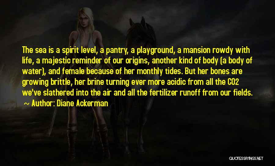 Fertilizer Quotes By Diane Ackerman