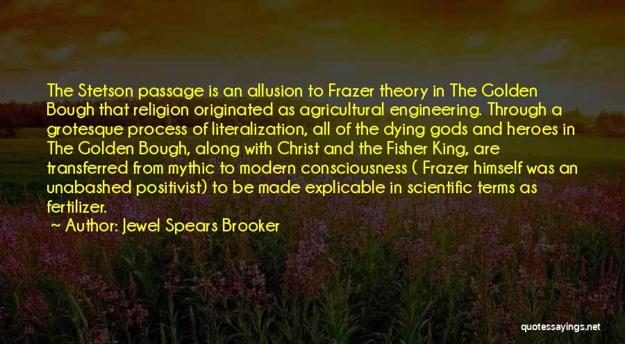 Fertilizer Quotes By Jewel Spears Brooker
