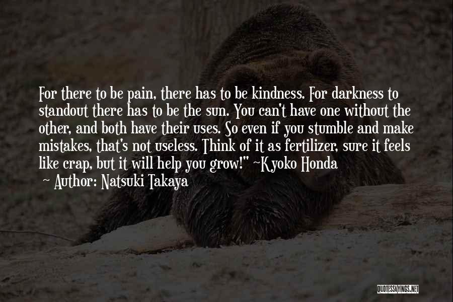 Fertilizer Quotes By Natsuki Takaya