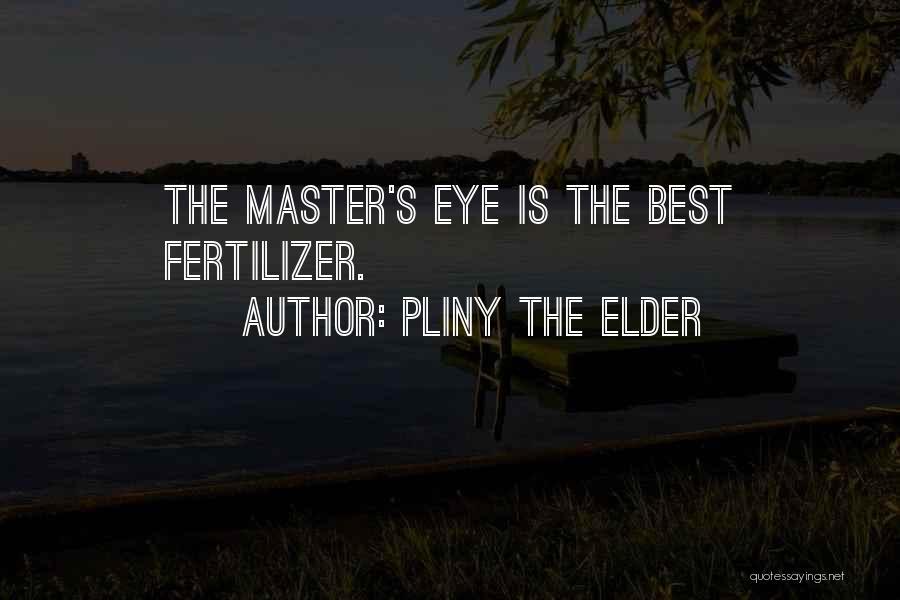 Fertilizer Quotes By Pliny The Elder