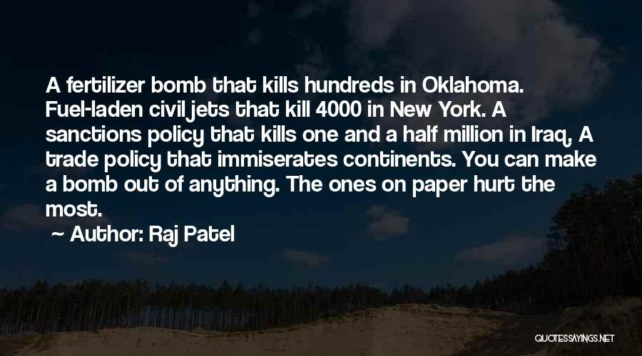 Fertilizer Quotes By Raj Patel