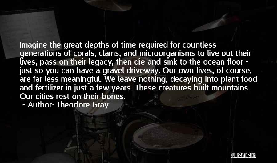 Fertilizer Quotes By Theodore Gray