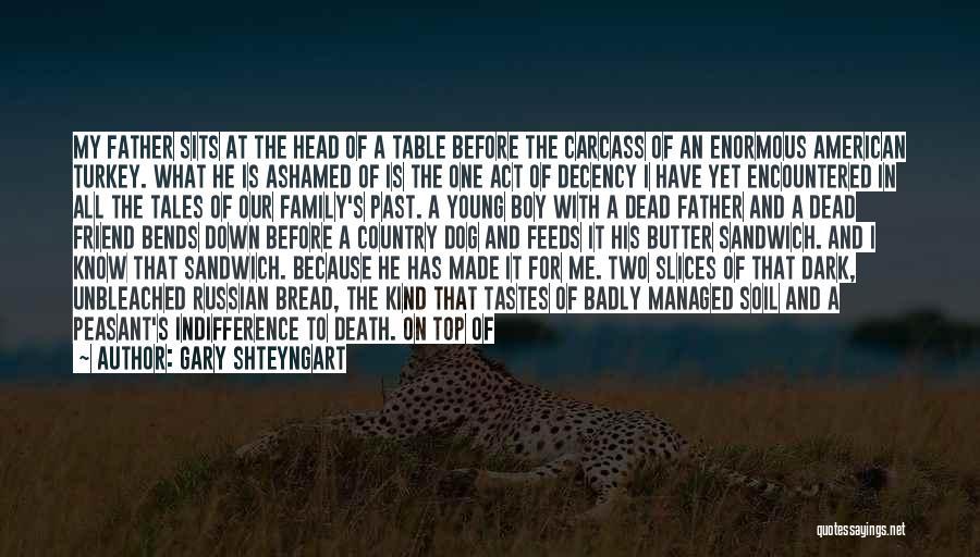 Feta Quotes By Gary Shteyngart
