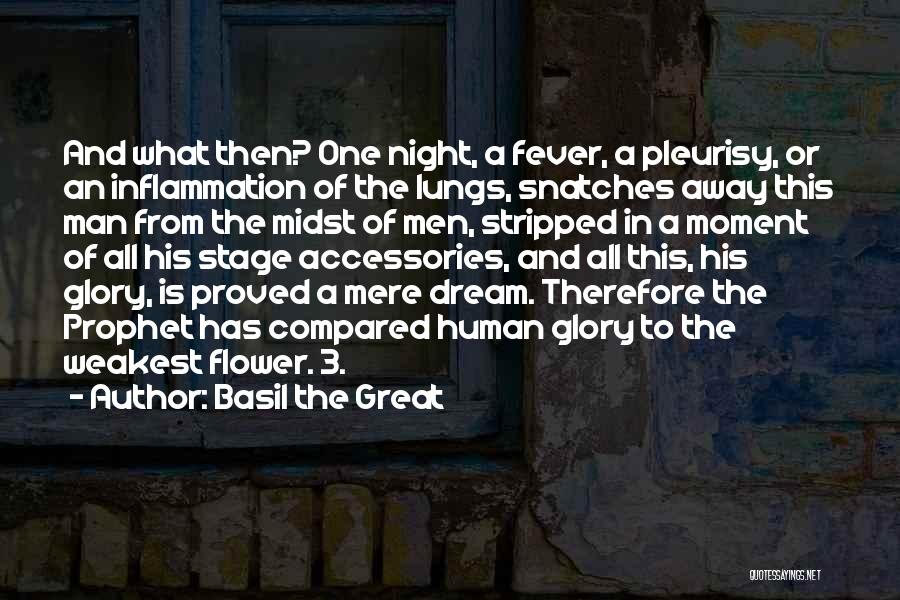 Fever Go Away Quotes By Basil The Great
