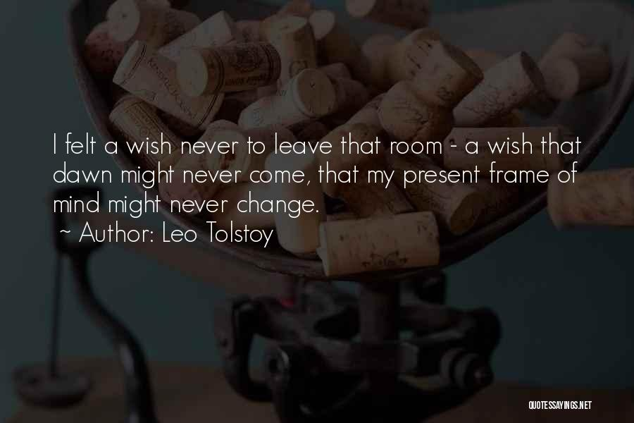 Few Things Never Change Quotes By Leo Tolstoy