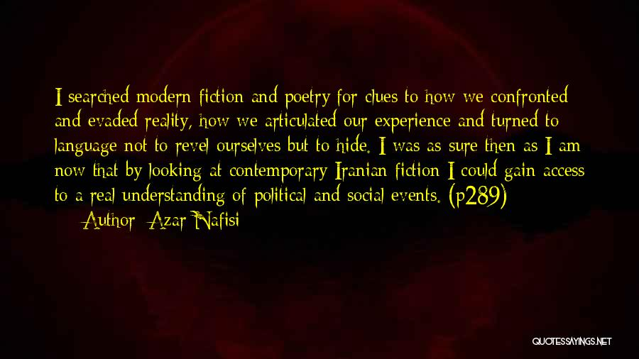 Fiction Literature Quotes By Azar Nafisi