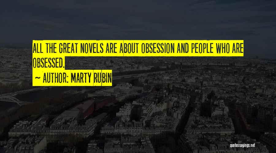 Fiction Literature Quotes By Marty Rubin