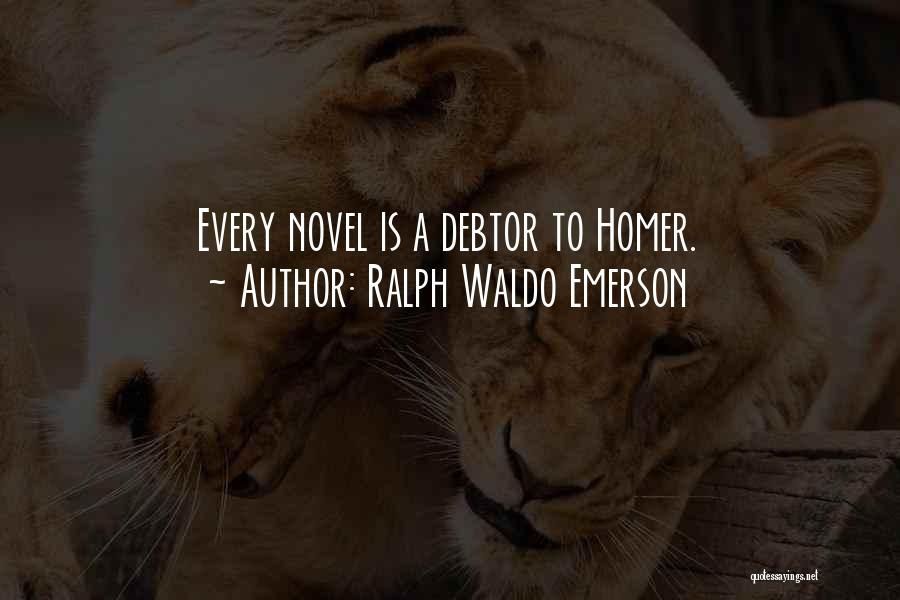 Fiction Literature Quotes By Ralph Waldo Emerson