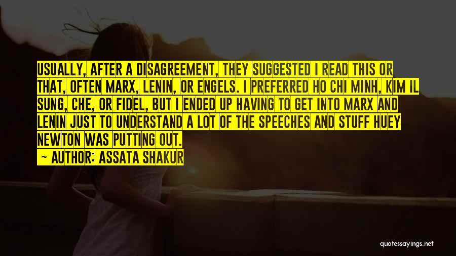 Fidel Quotes By Assata Shakur