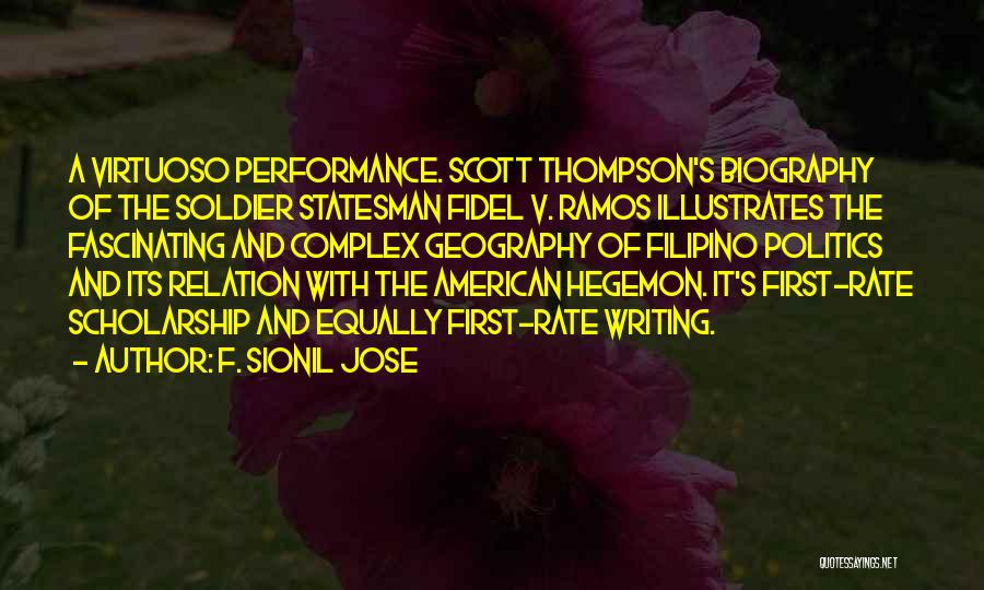 Fidel Quotes By F. Sionil Jose