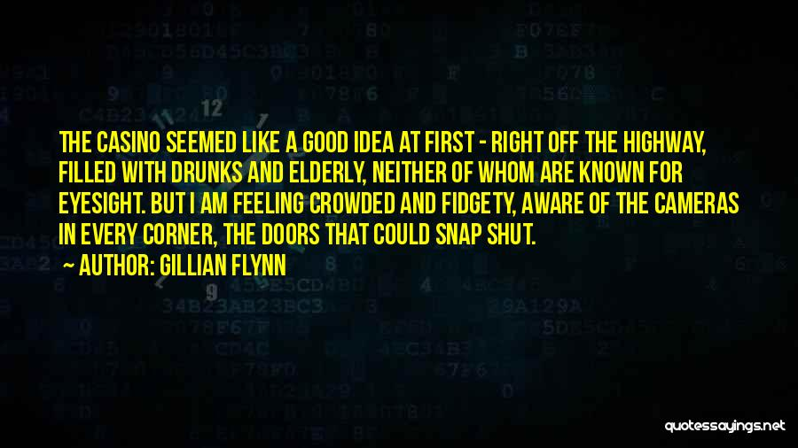 Fidgety Quotes By Gillian Flynn